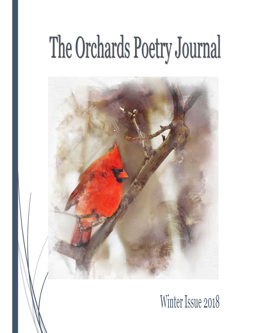 orchards poetry journal cover winter 2018
